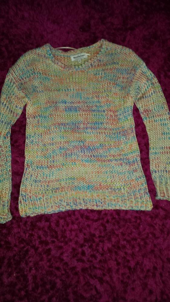 sweterek kolorowy medicine...