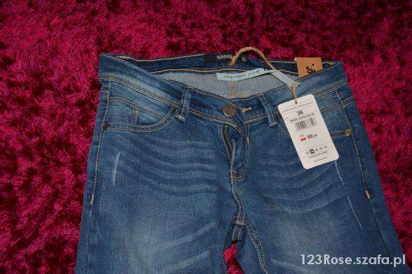 jeansy sinsay dziury...