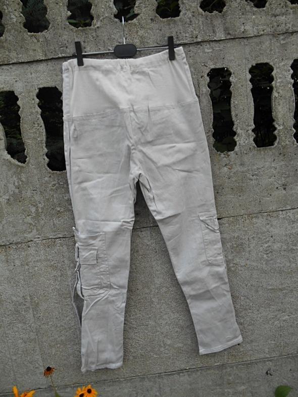 Spodnie Ciążowe spodnie M beżowe SAWANA