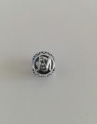 charms litera M do Pandora koralik vintage...