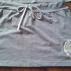 Szary kpl spódniczka i bluzka M