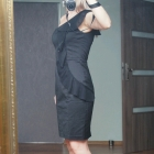 Piękna czarna sukienka Top Secret Nowa