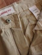 Męskie spodnie Loose Fit Authentic 77 beż bdb r34 L XL Next...