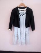 Nowa sukienka mgiełka rzymianka rozmiar L