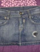 Jeansowa spódnica bershka 36 S