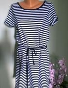 sukienka w paski L