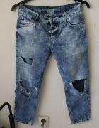 spodnie jeansowe boyfrend s...