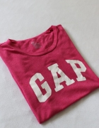 różowa koszulka gap s m...