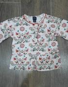 Słodka bluzeczka dla dziewczynki 12 18m