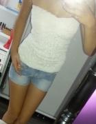 bluzeczka biała