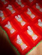 Kocyk w zajączki króliczki