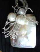 naszyjnik z masy perłowej galeria art
