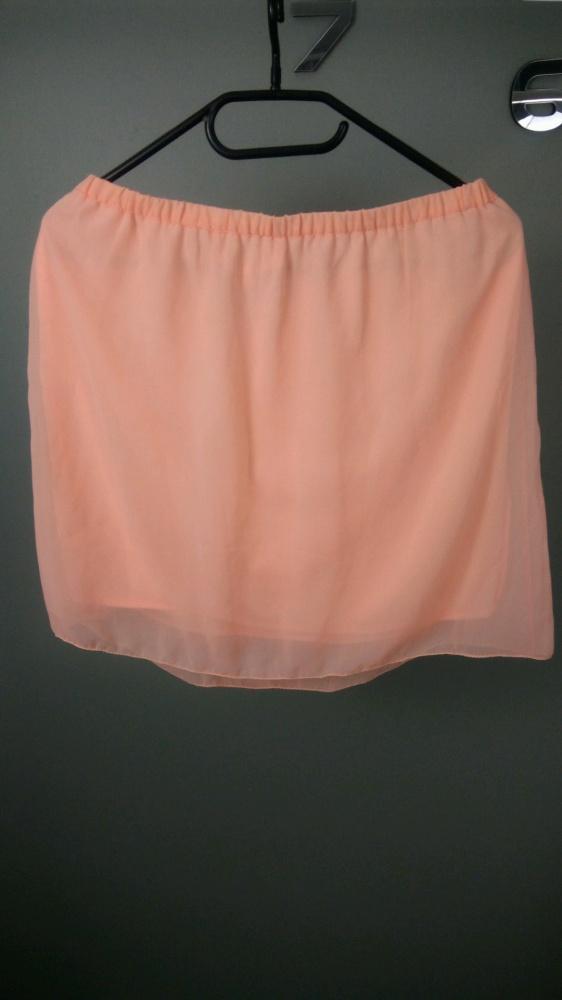 Spódnice Brzoskwiniowa spódniczka