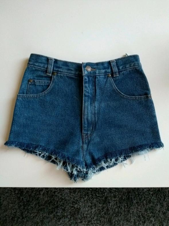 Szorty spodenki jeansowe Vintage XS