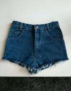 Szorty spodenki jeansowe Vintage XS...