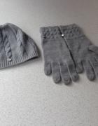 Komplet czapka i rękawiczki