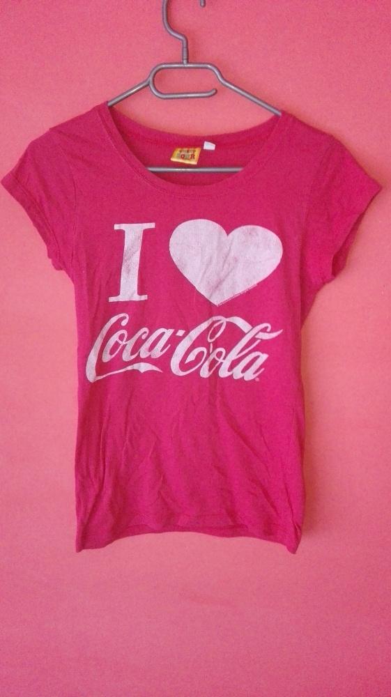 Bluzka Coca Cola...