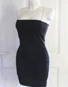 Dopasowana sukienka mała czarna r M
