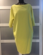 sukienka tulipan żółta letnia...