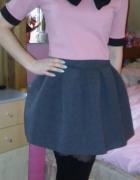 Różowa krótka bluzeczka crop top S boohoo kokrdka