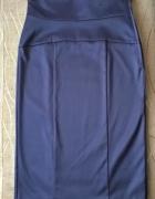 Śliwkowa ołówkowa spódnica Atmosphere z wysokim stanem