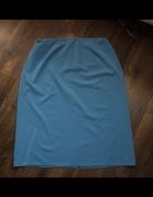 Spódnica prosta niebieska 50...