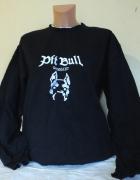 Bluza bez kaptura granatowa Pitt Bull...