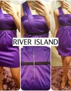 River Island sukienka satynowa roz XS S 34 36...