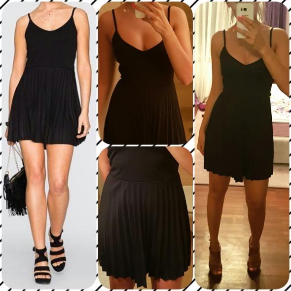 Suknie i sukienki Nowa sukienka plisowanka roz XS S 34 36