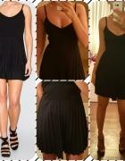 Nowa sukienka plisowanka roz XS S 34 36...