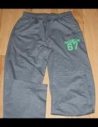 Siwe spodnie dresowe XL
