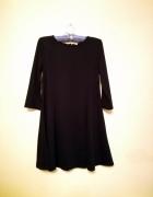 mała czarna sukienka sinsay S M trapezowa klasyczn