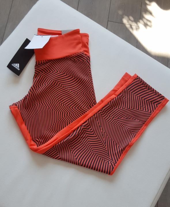 Nowe legginsy sportowe damskie Adidas rozm XS