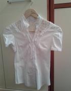 Śliczna koszula z koronkową wstawką