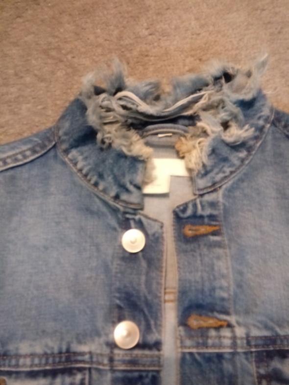 jeansowa kurtka 44