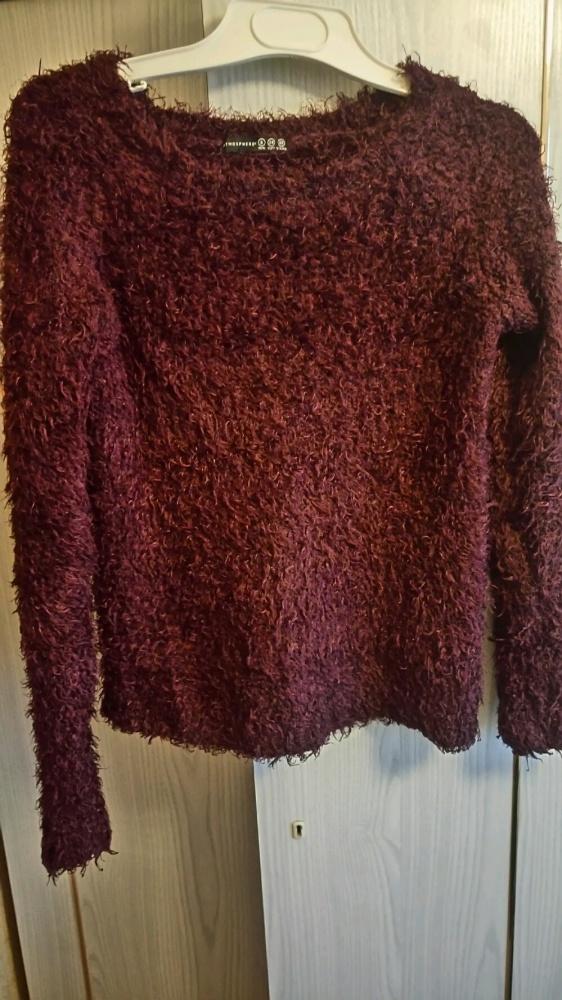 sweter włochacz atmosphere 34 XS ciepły