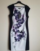 Sukienka w kwiaty r 40 42 NOWA