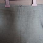 nowa spódnica Zara miętowa trapezowa