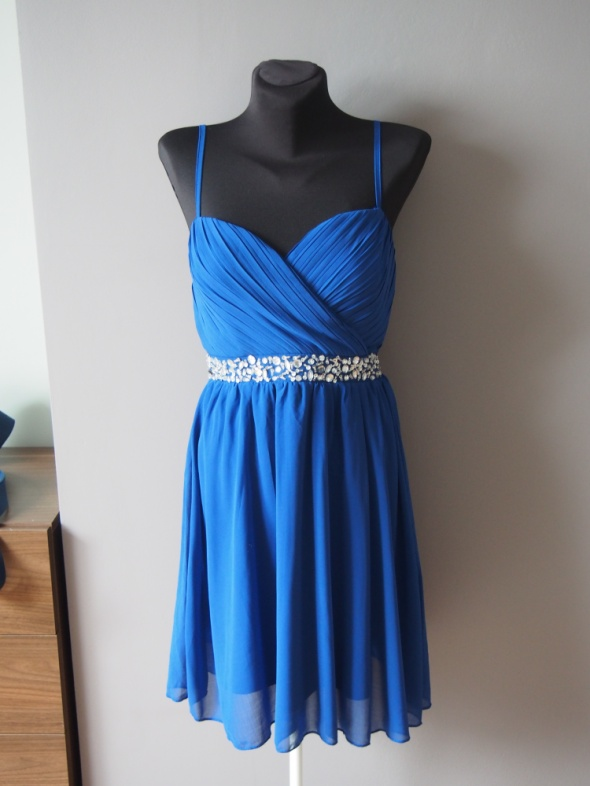 Suknie i sukienki Kobaltowa nowa sukienka Sisters Point