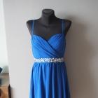 Kobaltowa nowa sukienka Sisters Point