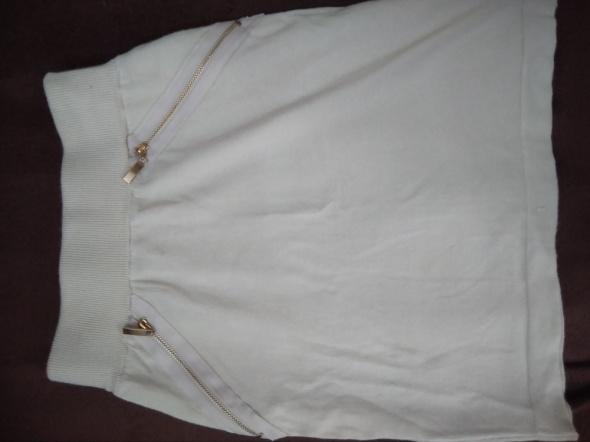 Spódnice Beżowa spódniczka bawełniana