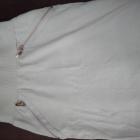 Beżowa spódniczka bawełniana