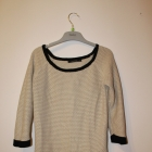 Reserved elegancki cienki sweterek z zamkami
