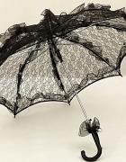 Restyle parasolka koronkowa retro wiktoriańska gotycka victoria...