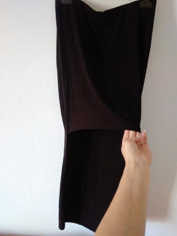 Czarna spódnica długi tył krótki przód NOWA River...