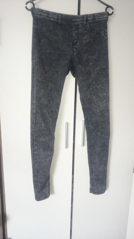 Spodnie rurki BERSHKA...