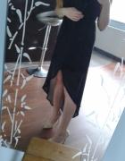 czarna sukienka 36 midi