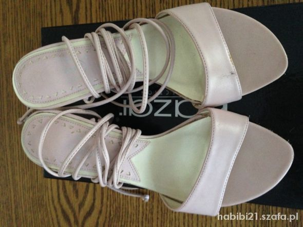 Sandały rozowe sandalki