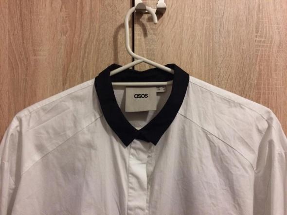 długa biała koszula z popeliny angel...