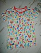 GEORGE bluzka koszulka SLEEP roz 122 128...